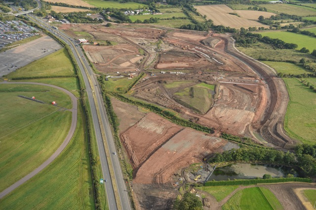 A45 earthworks
